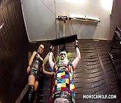 Film fétichiste de clown fou