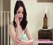 Gorgeous sluts Yhivi gets fingerfucked