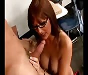 Milf teacher fucks her student