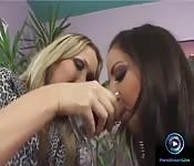 Mandy Bright e Maria Bellucci se la spassano
