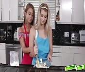 Arya Faye eating Jill Kassidys pussy
