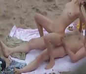 Video segreto di sesso in spiaggia