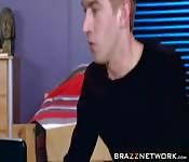 Danny D succumbs to Jenna J Foxxes tits