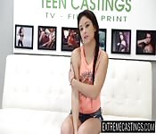 Sweet Mandy banged on the casting couch