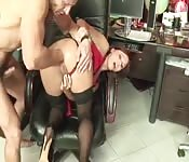 Hot assisted gets fisted
