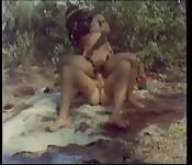 An hour and a half of vintage interracial porn.