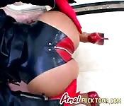 Sex Slaves Foursome Blowjob Anal Fucking