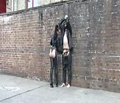Sklave wird öffentlich bestraft