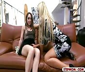 Nikki Benz and Remy LaCroix shared a rod