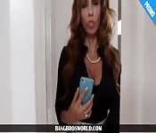Hot stepmom Ariella teaches couple