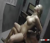 Interracial wife swapping gets real wild