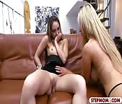 Nikki Benz and Remy LaCroix threeway sex