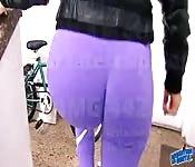 Amazing Big Ass Teen Exposing Big Boobs
