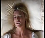 Video amatoriale con faccia da orgasmo in primo piano