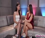 Alina performs orgasmic techniques