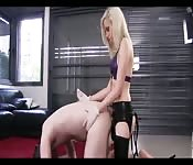 Fucked By A Blonde Dominatrix