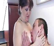 Sesso con una donna di 60 anni