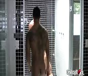 Hot gay threesome throat and anal fuck
