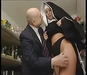 Spread this nun apart