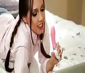 Show in webcam di due ragazze