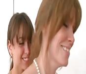 Dos lesbianas y una polla