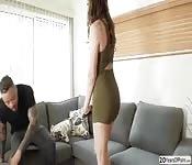 Sexy Adria and Eddie hot interracial sex
