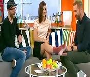 Un'intervista televisiva