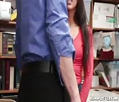 Lilly strip searched before got fucked