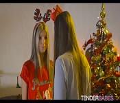 Blue Angel drills Gina Gerson for Santa