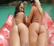 Zwei richtig feuchte Girls