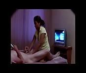 Une massage très érotique