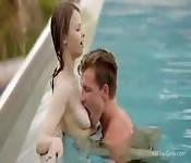 Divertimento a bordo piscina