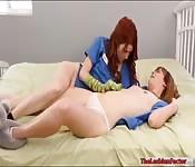 Lesbian babes enjoyed each others twats