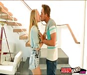 Angel Allwood and Dakota James threesome