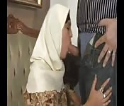 Horny Arab women getting their freak on despite custom.