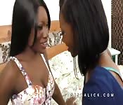 Chanell Heart and Kay Love hot kissing