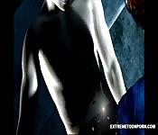 Faith Leon  neukt een vampier