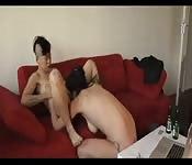 Lesbianas preciosas jugando