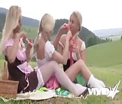 Vivid.com - Young And Wild Lesbian Threesome