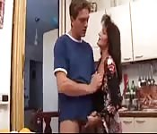 Woman and Step Son in Taboo