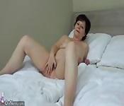 OldNanny Granny with pretty girl masturbating