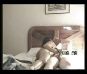 Amatoriali scopano nella stanza di un motel