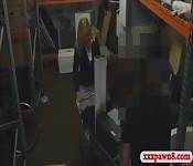 Sexy milf smashed by pawn man for cash