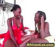 Lesbian amateur sluts ebony strap on
