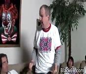 Black Babe Courtney Fox Gets Gang Banged