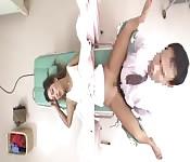 Un docteur Japonais baise sa patiente en pleine consultation