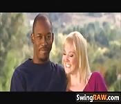 Newbie swinger lovely couple