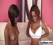 Amazing sluts in hot lesbo action
