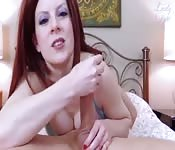 The redhead and a long cock