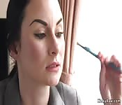 Federal agent anal fucked by colleague